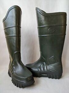 Derri Boots Fleece Lined Green Size UK 8 EUR 41 Unisex