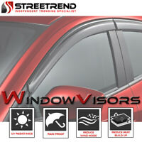 For 1997-2003 Montero Sport Sun/Rain Guard Smoke Shade Deflector Window Visors