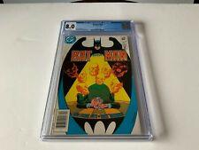 BATMAN 354 CGC 8.0 WHITE PAGES HUGO STRANGE DC COMICS 1982