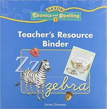 Grade 3 Saxon Phonics and Spelling Teacher's Resource Binder Edition 3rd
