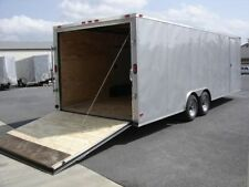 8.5x20 8.5 x 20 Enclosed Trailer Car Hauler Cargo V Nose 22 Utility Motorcycle