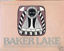 Baker Lake - Winnipeg Art Gallery, Prints & Drawings, Feb - April 1983 - Book