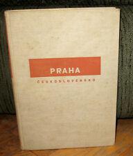 Josef Sudek Praha Ceskoslovensko Gravure Original 1929 HC First Monograph Prague