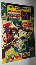 TALES OF SUSPENSE #92 IRONMAN AND CAP  VERY CLEAN AND GLOSSY NM 9.4