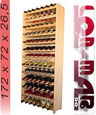 Weinregal Weinregal Holz  Flaschenregal für 91 Flaschen NEU!!!Massiv_91