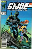 🔥G.I. JOE A Real American Hero #63 Snake-Eyes 1987 NEWSSTAND Beauty 🔥