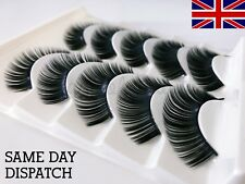 5 Pairs Volume False Eyelashes Long Thick WSP47 Fake Strip Eye Lashes MakeUp UK