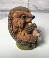 HEDGIES Country Artists Vintage 1997 BRAHMS Very Rare Hedgehog Playing Recorder
