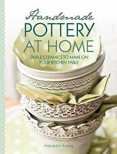 HANDMADE POTTERY AT HOME CERAMICS TO MAKE ON THE KITCHEN TABLE:US1/2 PB467-NEW