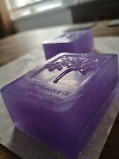 Eco tree of life Organic Lavender essential oil soap ~Tree of life print~