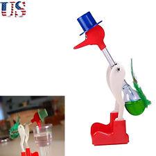Happy Duck Novelty Bobbing Lucky Bird Glass Drinking Retro Toy Einstein Dippy