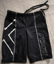 2XU MCS Compression Running Shorts Womens Small S Black Lycra Tri Triathlon