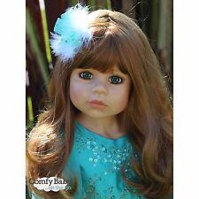 NWT RARE Masterpiece Dolls Jasmine Straw Blonde With GREEN Eyes Monika Levenig