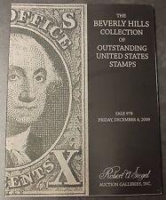 Beverly Hills Collection Outstanding U.S. Stamps 978 Robert Siegel Galleries