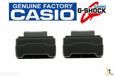 CASIO G-Shock GA-100 (ALL GA-100 MODELS) Black End Piece Strap Adapter (QTY 2)