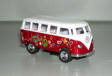 Volkswagen VW T1 1962 Hippi Bus rot 1:64 Bulli