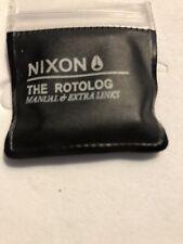NIXON The Rotolog Dark Wood Link!