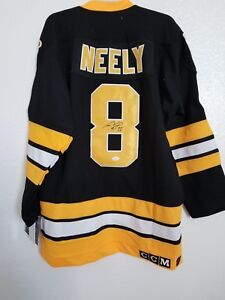 CAM NEELY - BOSTON BRUINS SIGNED CCM JERSEY