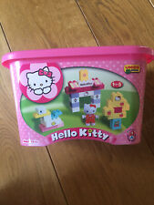 Hello Kitty Unico Plus Construction Blocks 71 Pieces Pastel Pink 1 1/2 - 5 Years