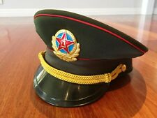 Collectable Chinese Military War Army Dress Hat
