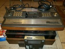 Mattel intellivision console 2609 with 32 games and voice module video game lot