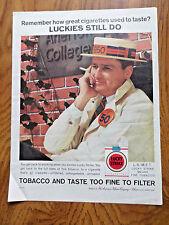 1960 Lucky Strike Cigarette Ad  1950 Class College Reunion theme