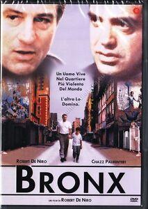 BRONX (1993 Robert De Niro) DVD NUOVO