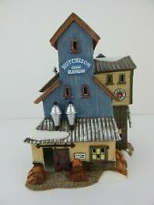 Dept 56 New England Village Hutchinson Grain Elevator #56660 Good Condition