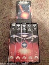 Star Trek Collector's Set (VHS, 1992, 5-Tape Set) + Bonus New VI Star Trek VHS
