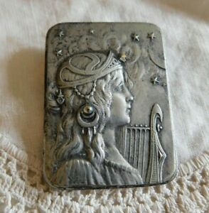 Fairy Mystical Pewter Picture Brooch Pendant So Pretty