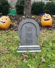 Personalized Haunted Mansion / Halloween Inspired Tombstone Prop Replica