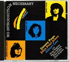 Jimmy Page, John Paul Jones and Albert Lee - no introduction necessary - CD