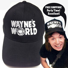 Waynes World Hat Halloween Costume Party On Wayne Campbell embroidered cap