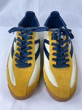 NWOT Tretorn WTRawlins2 Womens Blue Yellow Fashion Casual Suede Shoes 8.5