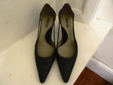 Kenneth Cole Reaction Black Leather Shoes Size 7m