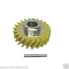 Kitchenaid Stand Mixer Genuine Spare Part Worm Drive Gear And Grooved Pin.