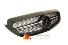 C63 AMG 1 FIN STYLE FRONT HOOD RADIATOR GRILLE GRILL for MERCEDES W205 C-CLASS