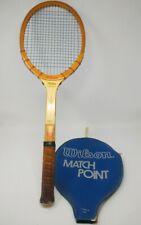 Vintage Wilson Jack Kramer The Autograph Wooden Racquet  Light 4 5/8
