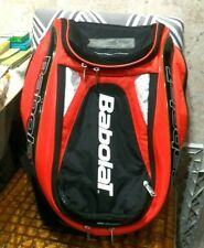 Babolat Pure Aero Tennis Backpack Bag Red & Black Racket Racquet Bag