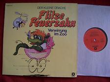 Flitze Feuerzahn - Verwirrung im Zoo + Auf Horchposten   rare Sonocord Doppel LP
