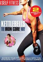 Best Self Fitness: Kettlebells - The Iron Core Way (DVD, 2014) 2 workout set
