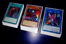 Yugioh Complete Vampire Zombie Deck + Ultra Pro Sleeves! Tournament Ready! Link!