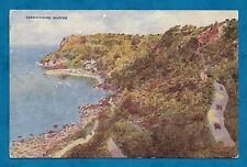 C1930'S PC BABBACOMBE SLOPES, DEVON - ARTIST DRAWN by C. T. HOWARD