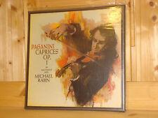 MICHAEL RABIN Violin Paganini Caprices op.1 CAPITOL 2x 180g LP SPBR 8477 SEALED