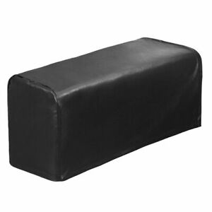 2 Pcs PU Leather Sofa Armrest Covers Waterproof Couch Arm Stretchy Protectors