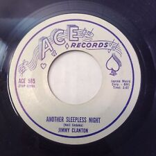 JIMMY CLANTON ANOTHER SLEEPLESS NIGHT /I'M GONNA TRY 1960 POPCORN VG+/NM- 45 ACE