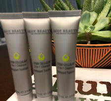 3X JUICE BEAUTY Stem Cellular 2 in 1 Cleanser .5oz Travel Sz Lot Of 3