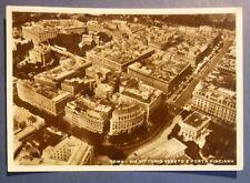 ROMA - VEDUTA AEREA- VIA VENETO E PORTA PINCIANA - 1937
