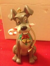 Tramp 130 Not Lady Disney Grolier Christmas Magic Ornament In Box
