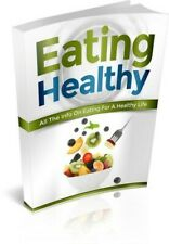 NEW Eating HealthyE BOOK PDF WITH RESELL RIGHTS DELIVERY 12hrs